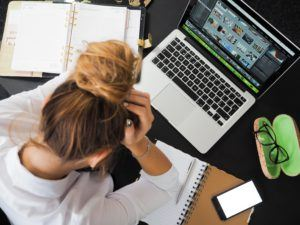 how do you handle stress at work