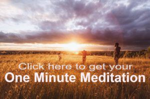 get this one minute meditation today