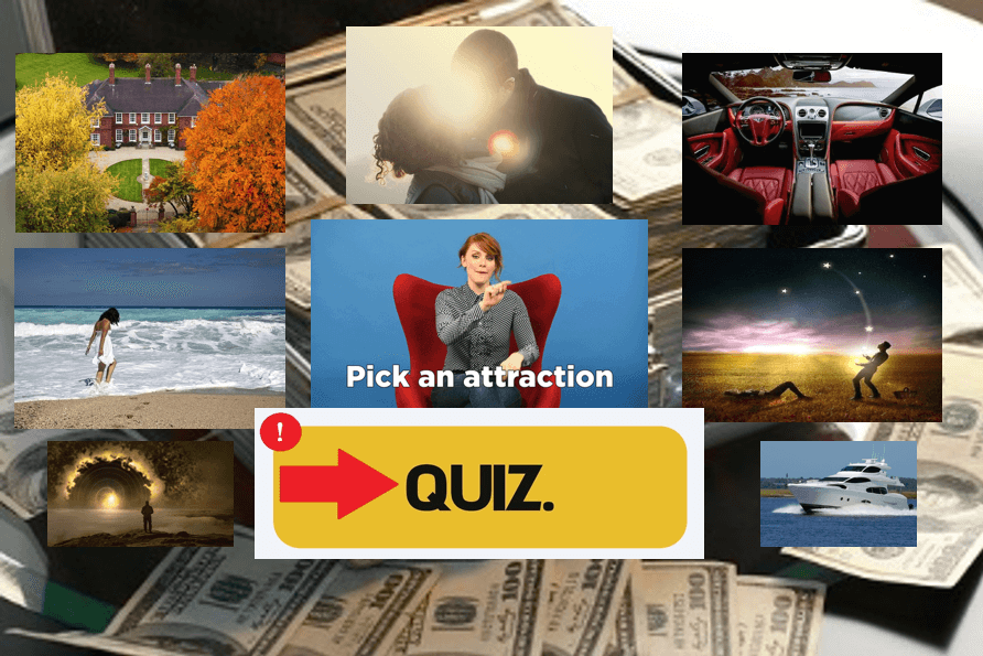 pick an attraction using a scientific view on the law of attractrion