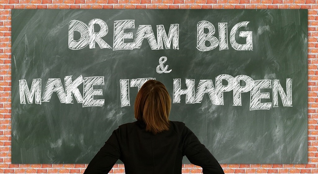 you only need 51 per cent belief to begin attracting